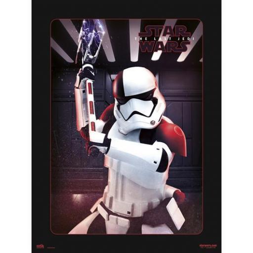 Art Print Star Wars VIII Executioner Trooper 30 x 40 cm