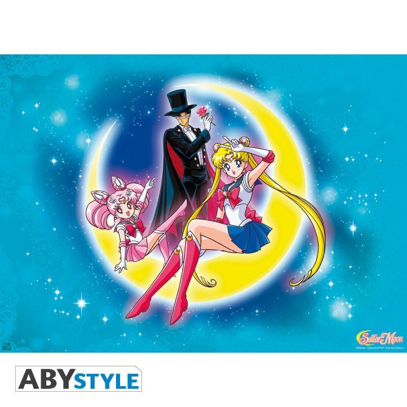 Poster Sailor Moon and Chibi Moon 52 x 38
