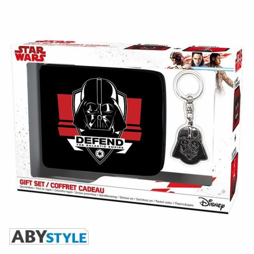 Pack Regalo (Cartera+Llavero) Star Wars Darth Vader [0]