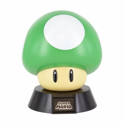Lámpara Icon Nintendo Super Mario 1UP Mushroom