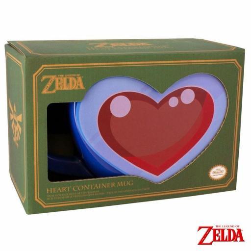 Taza 3D The Legend of Zelda Heart [3]