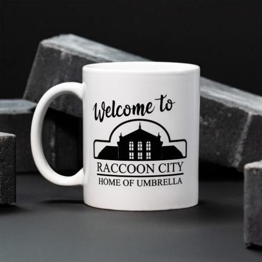 Taza Resident Evil Welcome To Raccoon City