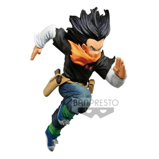 ESTATUA BANPRESTO DRAGON BALL Z ANDROIDE A17