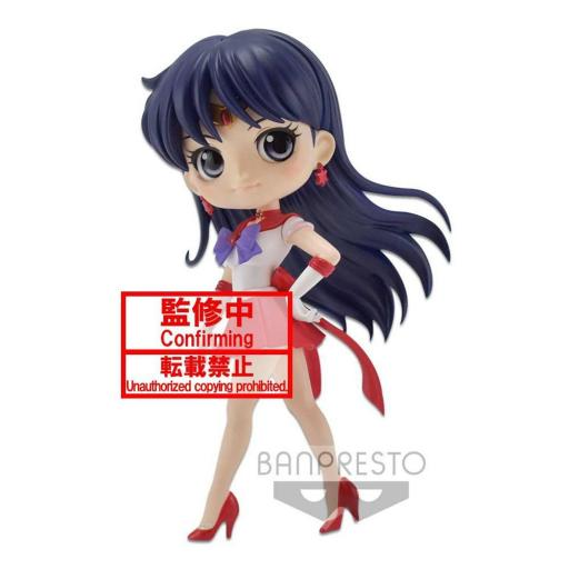 FIGURA QPOSKET SAILOR MOON SAILOR MARS