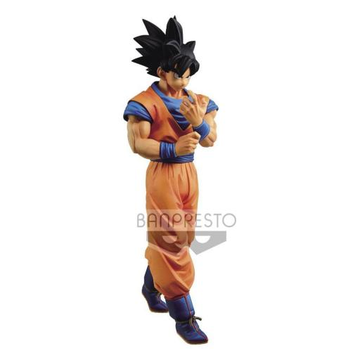 Estatua Banpresto Dragonball Z Solid Edge Works Son Goku 23 cm
