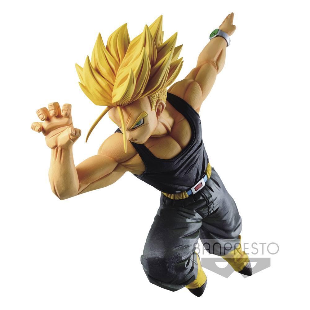 Estatua Banpresto Dragon Ball Z Match Makers Super Saiyan Trunks 15 cm