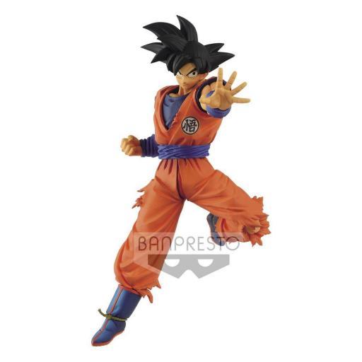 Estatua Banpresto Dragon Ball Super Chosenshiretsuden Son Goku 16 cm