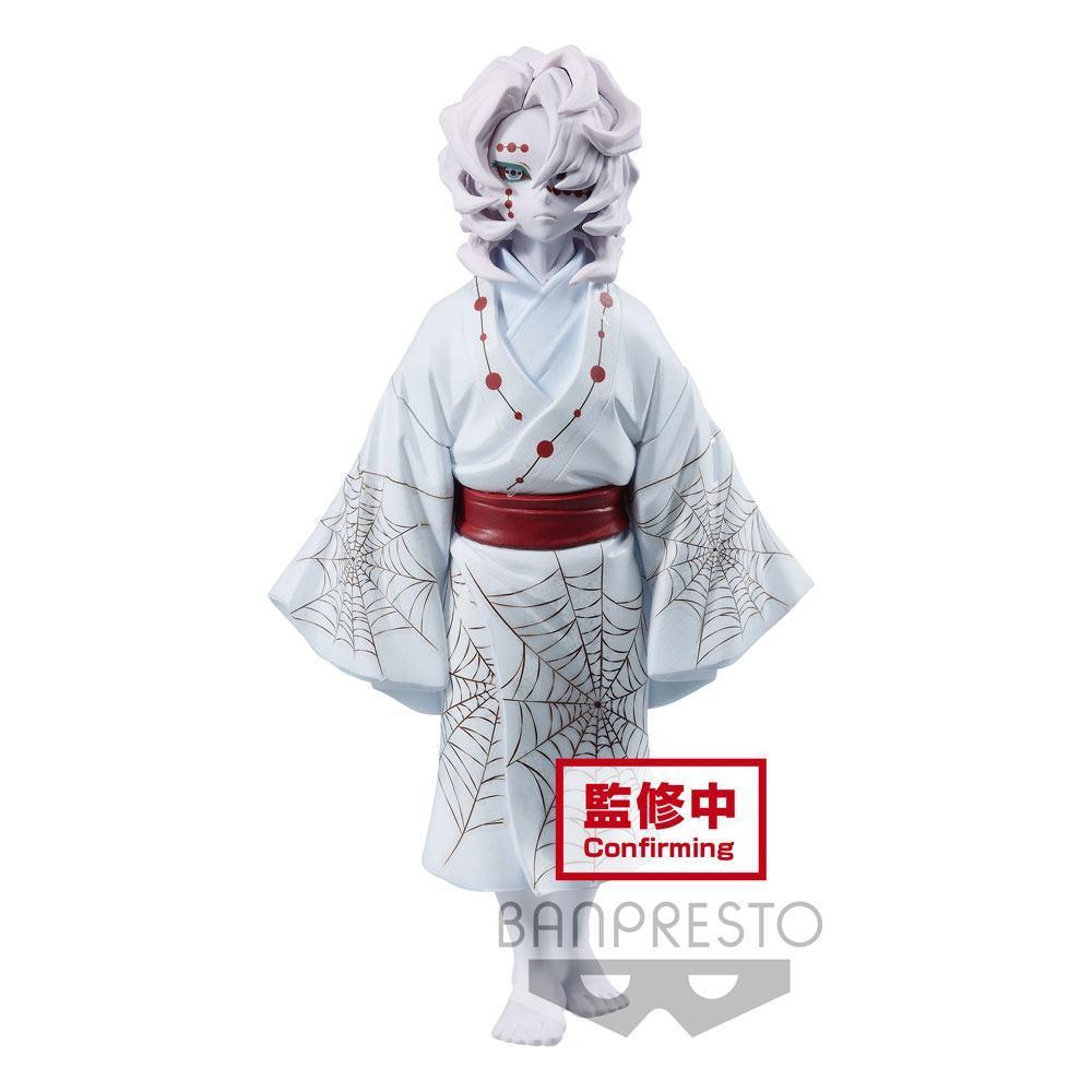 Estatua Banpresto Demon Slayer Kimetsu No Yaiba Demon Series Rui 14 cm