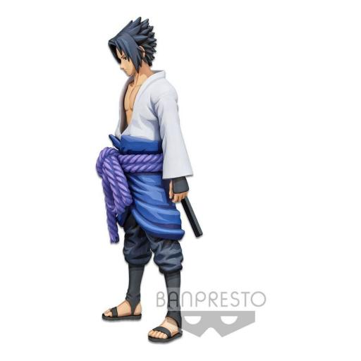 Estatua Banpresto Naruto Shippuden Grandista Shinobi Relations Uchiha Sasuke Manga Dimensions 27 cm [1]
