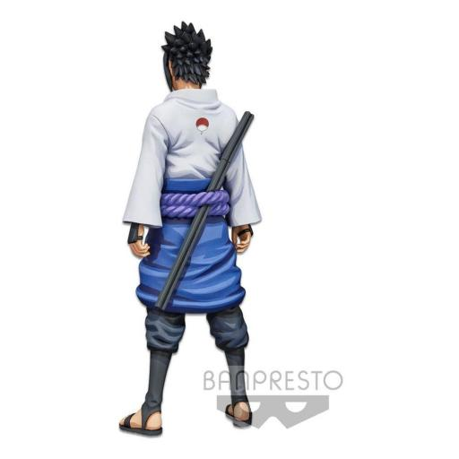 Estatua Banpresto Naruto Shippuden Grandista Shinobi Relations Uchiha Sasuke Manga Dimensions 27 cm [2]
