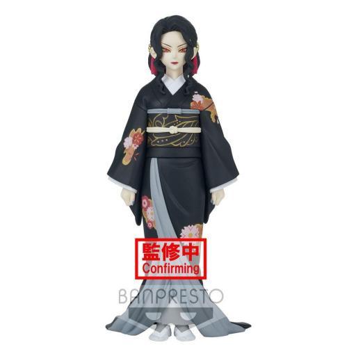 Estatua Banpresto Demon Slayer Kimetsu No Yaiba Demon Series Muzan Kibutsuji 17 cm