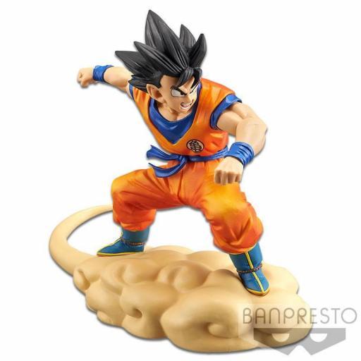 Estatua Banpresto Dragon Ball Z Son Goku (Flying Nimbus) 16 cm