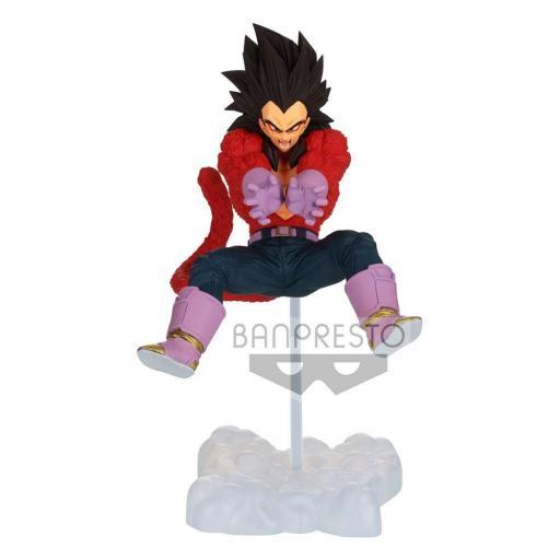 Estatua Banpresto Dragon Ball GT Tag Fighters Super Saiyan 4 Vegeta 12 cm