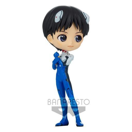 Figura QPosket Evangelion: New Theatrical Edition Shinji Ikari Plugsuit Style Ver. A 14 cm