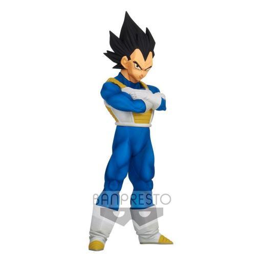 Estatua Banpresto Dragon Ball Z Burning Fighters Vegeta 15 cm