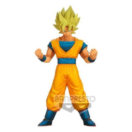 Estatua Banpresto Dragon Ball Z Burning Fighters Son Goku 16 cm