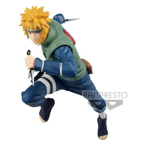 Estatua Banpresto Naruto Shippuden Vibration Stars Namikaze Minato 18 cm