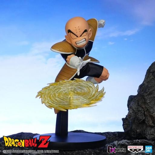 Estatua Banpresto Dragon Ball Z G x Materia The Krillin 11 cm