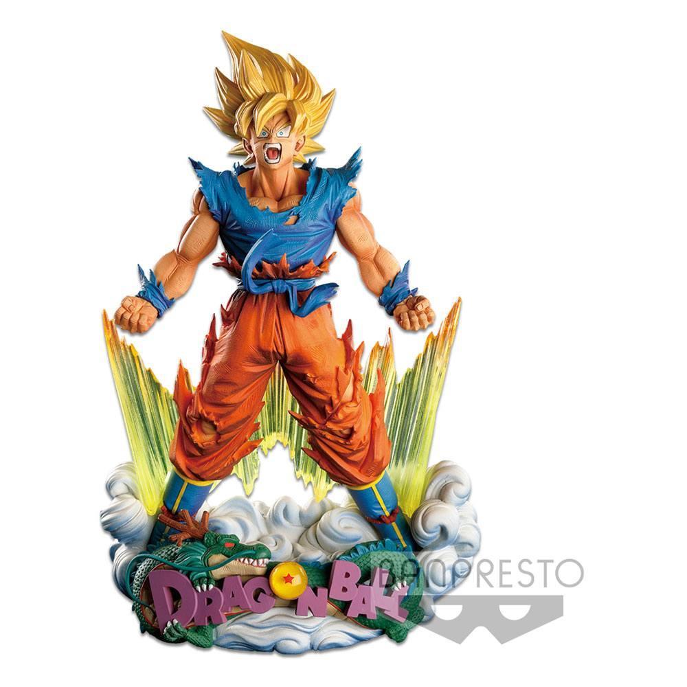 Estatua Dragon Ball Z Master Stars Piece The Son Goku The Brush 18 cm