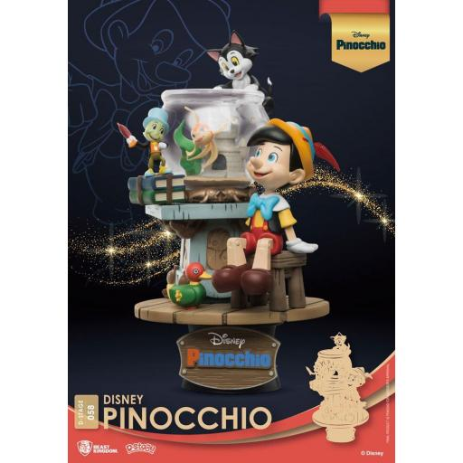 Diorama Beast Kingdom Disney Classic Animation Series D-Stage Pinocchio 15 cm