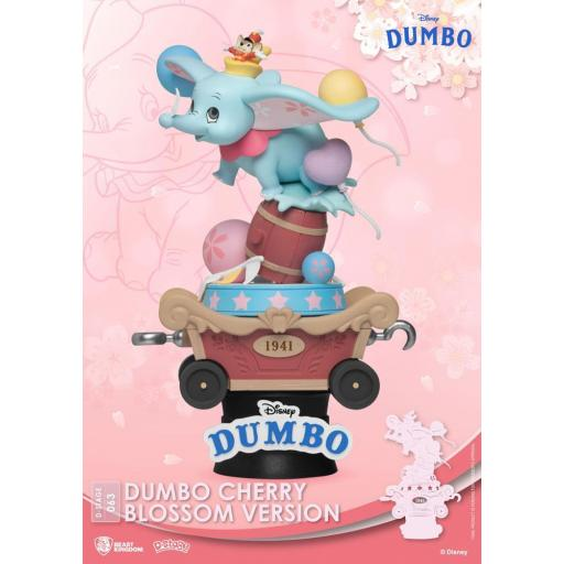 Diorama Beast Kingdom Disney Classic Animation Series D-Stage Dumbo Cherry Blossom Version 15 cm