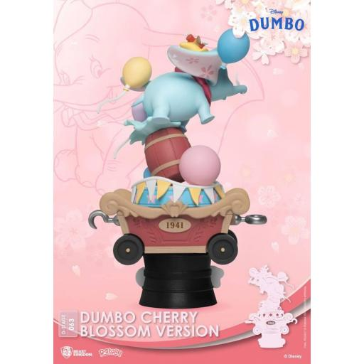 Diorama Beast Kingdom Disney Classic Animation Series D-Stage Dumbo Cherry Blossom Version 15 cm [3]
