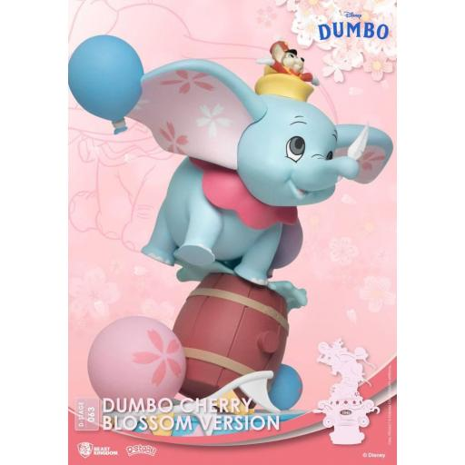 Diorama Beast Kingdom Disney Classic Animation Series D-Stage Dumbo Cherry Blossom Version 15 cm [1]