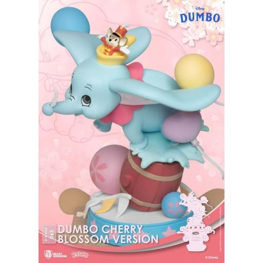 Diorama Beast Kingdom Disney Classic Animation Series D-Stage Dumbo Cherry Blossom Version 15 cm [2]