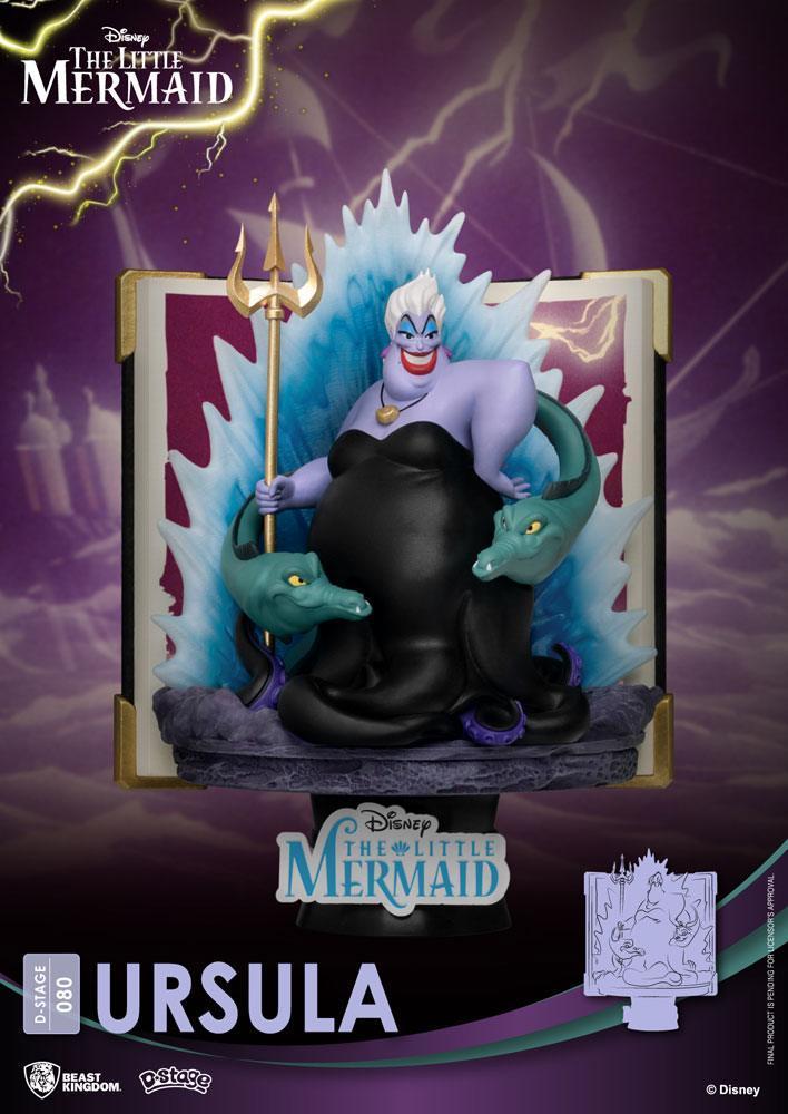 Diorama Beast Kingdom Disney D-Stage Story Book Series Ursula 15 cm