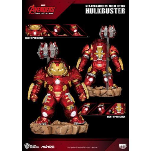 Figura Egg Attack Marvel Los Vengadores: La Era de Ultrón Hulkbuster 13 cm [1]