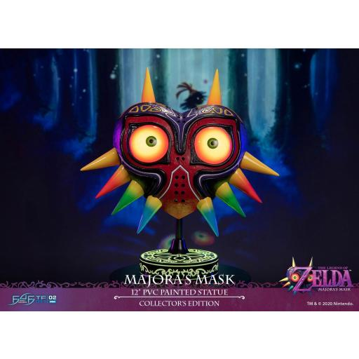 ESTATUA FIRST 4 FIGURES THE LEGEND OF ZELDA MAJORAS MASK COLLECTORS EDITION 30 CM