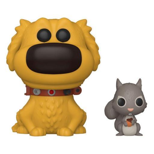 Figura Funko Pop! Disney UP Dug Days POP & Buddy Dug w/Squirrel 9 cm