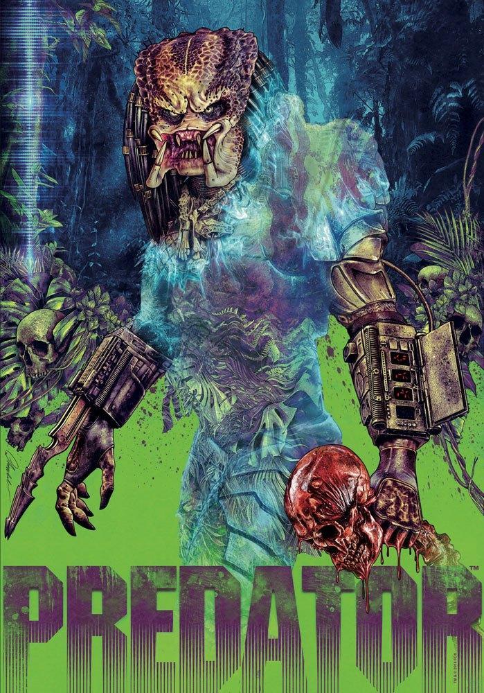Art Print 42 x 30 Predator