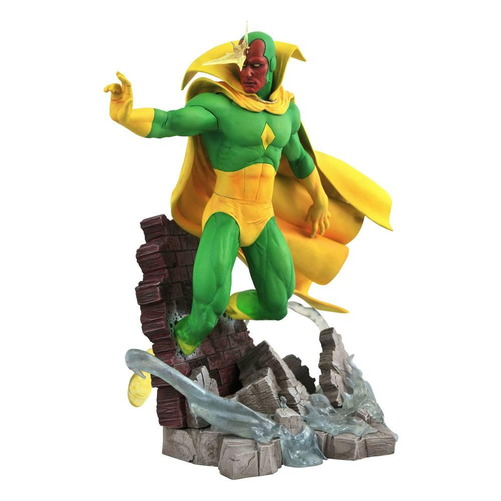 Estatua Diamond Select Marvel Comic Gallery Vs. Vision 27 cm