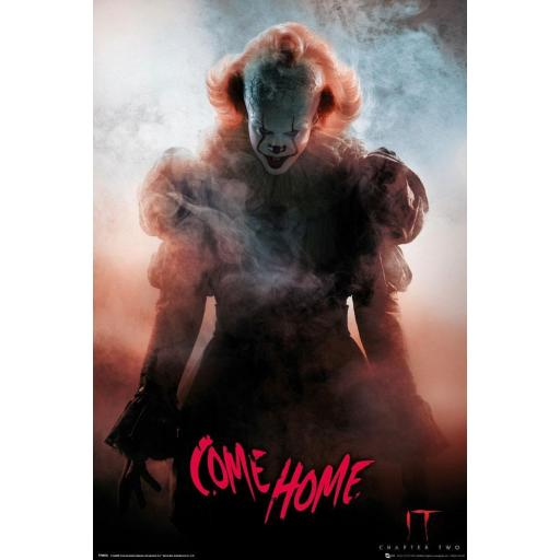 Poster 61 x 91 IT 2 Pennywise Come Home