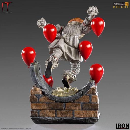 Estatua Iron Studios IT Capítulo 2 Deluxe Art Scale Pennywise 21 cm [3]
