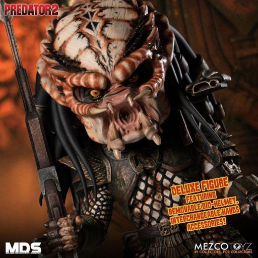 Figura Articulada Mezco Toyz Predator 2 City Hunter 15 cm [2]