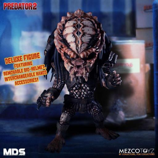 Figura Articulada Mezco Toyz Predator 2 City Hunter 15 cm