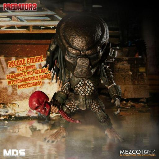 Figura Articulada Mezco Toyz Predator 2 City Hunter 15 cm [1]