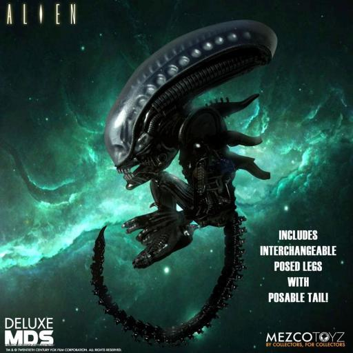 Figura Articulada Mezco Toyz Alien MDS Deluxe Xenomorph 18 cm [2]
