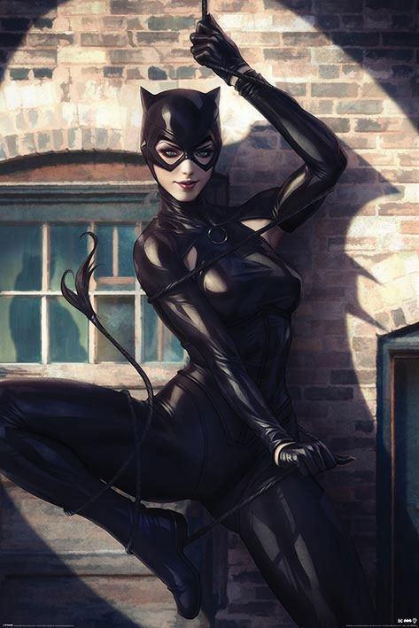 Póster 61 x 91 Batman Catwoman Spotlight