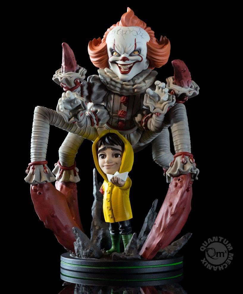 Figura QFig It 2017 Max Elite Pennywise We All Float 19 cm