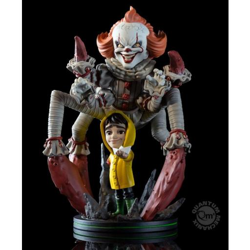 Figura QFig It 2017 Max Elite Pennywise We All Float 19 cm [0]