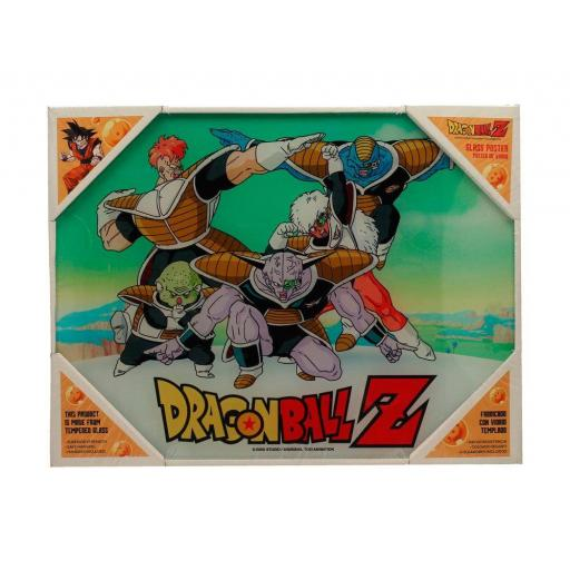 Poster de Vidrio 30 x 40  Dragon Ball Z Special Forces