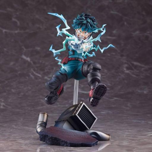 Estatua Takara Tomy - Sega My Hero Academia Izuku Midoriya 21 cm