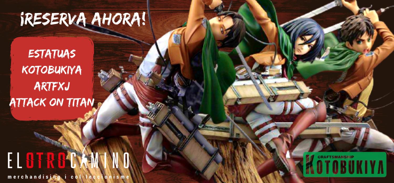 kotobukiya attack on titan