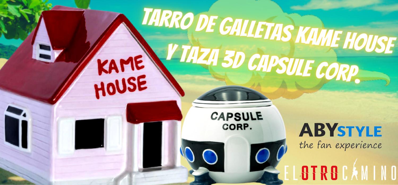 kame house y taza capsule