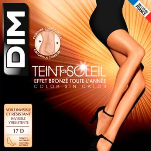 PANTY VERANO PUNTERA INVISIBLE TEINT SOLEIL 1184