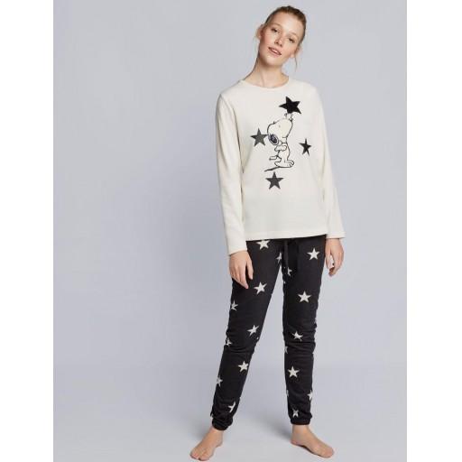 Pijama largo Snoopy [2]