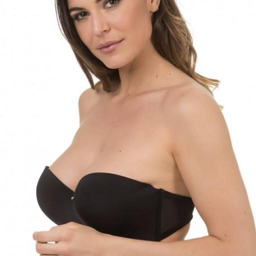 SUJETADOR PUSH UP SIN TIRANTES 10526
